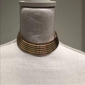 Gold Cleopatra Statement Necklace